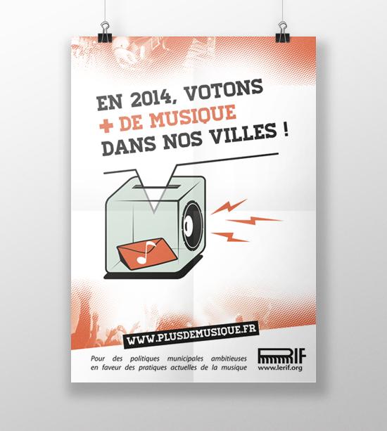 Campagne «+ de Musique dans ma Ville»