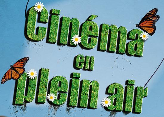 Visuel Cinéma plein air