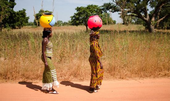 Street-jarre à Ouaga
