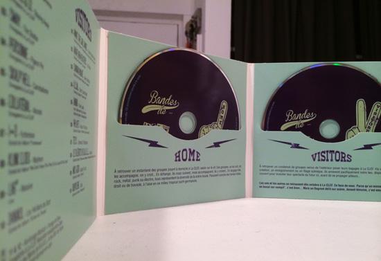 Pochette CD «Bandes de…»