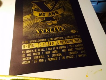 Affiche 20 ans Yvelive
