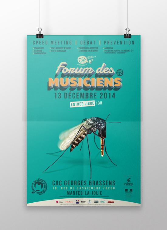 Affiche Forum Musicien