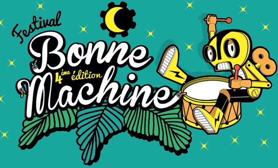 Visuel Festival Bonne Machine 2015