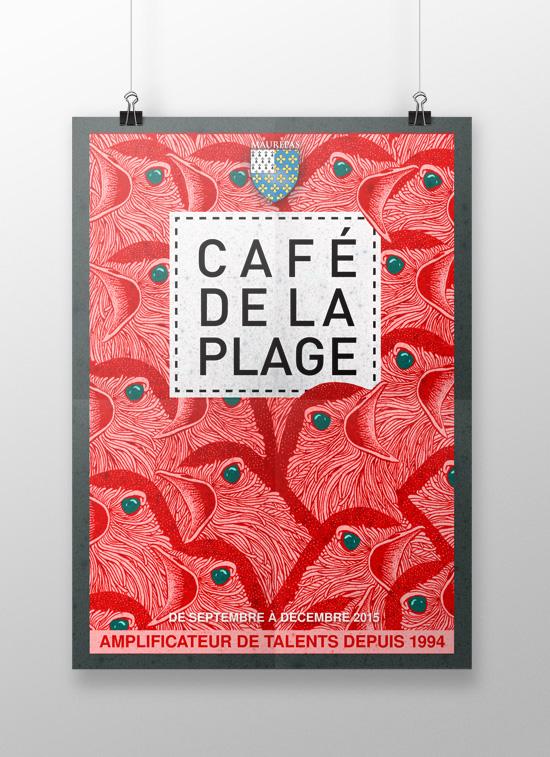 Café de la Plage – sept/déc 2015