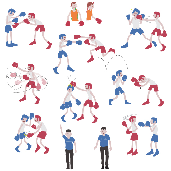 Boxe éducative – Nathan